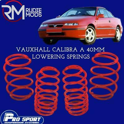 ProSport Lowering Springs for Vauxhall Calibra A Authorised Dealer