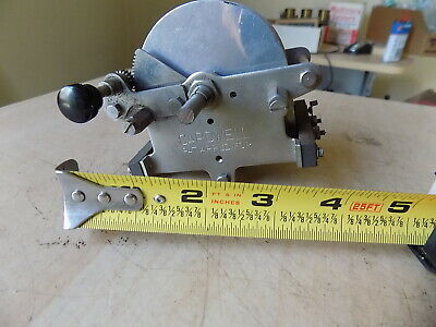 Vintage NOS Large Cardwell Tuning Capacitor w Vernier for Early Tube Radio Ham