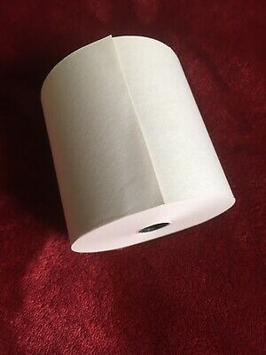 Single Ply Till Paper Roll 76x76mm Non Thermal Kitchen Till Box Of 20