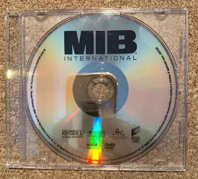 Men in Black International (DVD Only, 2019) 100% Authentic - No Fakes Here!