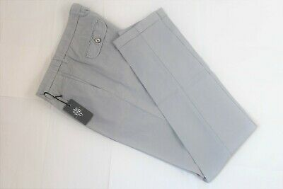 NWT $295 Eleventy Slim Fit Casual Cotton Pants | Made In Italy | NEW