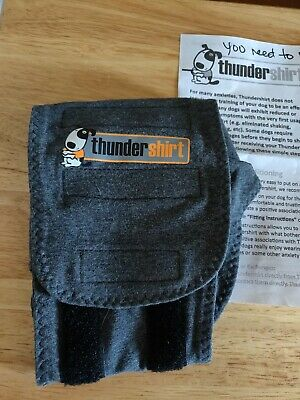 Thundershirt For Dogs Calm Anxiety Gray Size Xs Used Once
