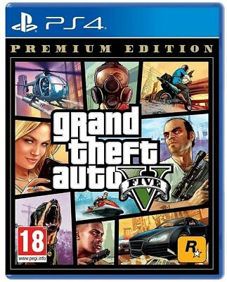 Gta 5 Premium Limited Edition Ps4 Grand Theft Auto Play Station 4 Ita Nuovo Eu