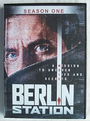 Berlin Station (Season One - 3 Disc DVD Set) - See Pictures - Free Shipping