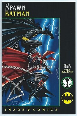 SPAWN BATMAN / Todd McFARLANE / Frank MILLER 1994 NM/MT 9.8 W IMAGE Comics