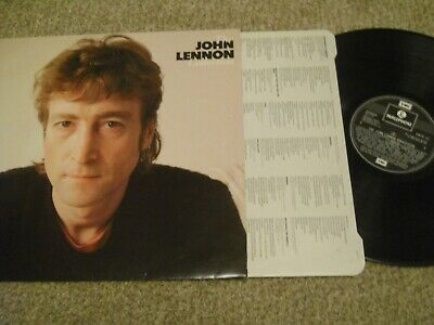 The John Lennon Collection Emtv 37 1982 Greatest Hits Excellent Beatles