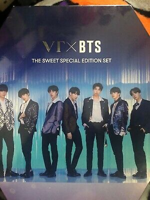 BTS x Vt Cosmetics sweet special edition (ivory)