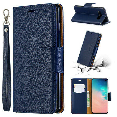 Fits Samsung Galaxy A40 A50 M30 A10 M10 Magnetic Leather Flip Wallet Case Cover