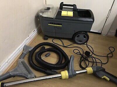 Karcher Puzzi 100 Professional Carpet Cleaner & Car Interiors 240V Wet And Dry