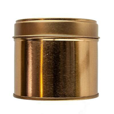 Large Rose Gold Welded Tin 250ml - Candle Making Storage Sweets Wedding Favour