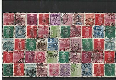Japan early used stamps Ref 15868