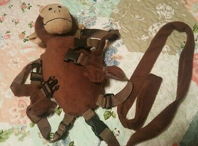 Gold Bug Monkey Toddler Safety Harness Brown
