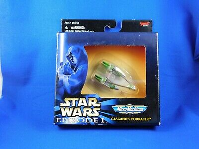 Star Wars Micro Machines Gasgano's Podracer in unopened box