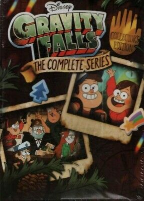 Gravity Falls The Complete Series  7 DVD  Box Set New Free Shipping