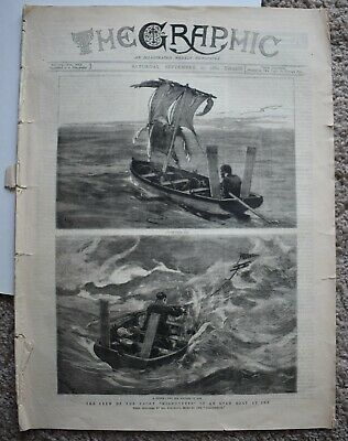 1884 The Graphic illustrated paper