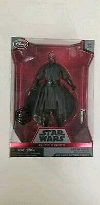 Disney Store Star Wars Elite Series Darth Maul Die Cast Action Figure New Sealed