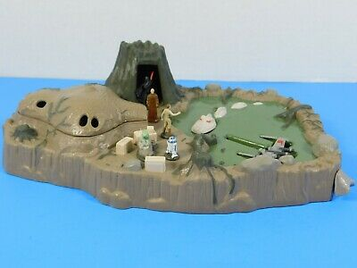 Star Wars Micro Machines Planet Dagobah Playset Used Galoob 1996