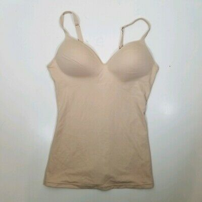 Self Expressions by Maidenform 00509 Wirefree Camisole Large Tan