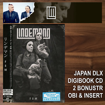JAPAN SPECIAL EDITION CD WITH OBI &LYRICS INSERT! LINDEMANN F & M 2019 rammstein