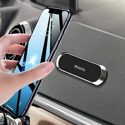 Mini Strip Shape Magnetic Car Phone Holder Stand For Huawei iPhone Magnet Mount