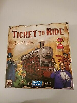 Ticket To Ride  Board game . Alan R Moon 2004 German game of the year.