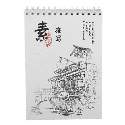 Watercolour Paper Art Artist Sketchbook Sketch Pad Journal Drawing Painting JJ