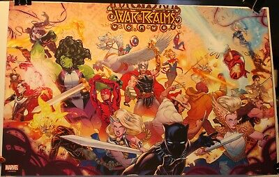 "The War of the Realms Russell Dauterman 13 x 20"" Marvel Promo Poster"