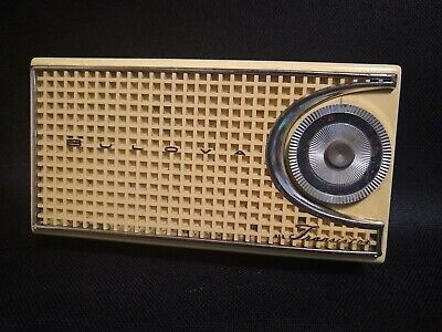 Bulova Transistor Radio Looks Great Works Great!
