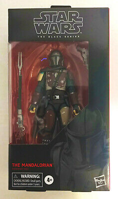 2019 Star Wars The Black Series THE MANDALORIAN 6 inch Action Figure