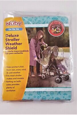Deluxe Stroller Weather Shield On The Go by Nuby
