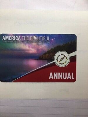 America the Beautiful - National Parks - Annual Pass USA Exp 31 August 2020