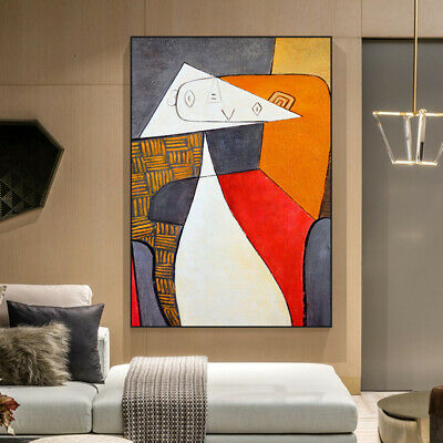 VV910 Modern Hand painted abstract oil painting on canvas Frameless
