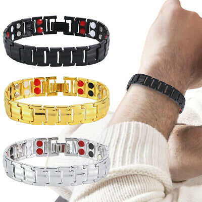 Men Women Magnetic Bracelet Therapeutic Energy Healing Therapy Arthritis Jewelry