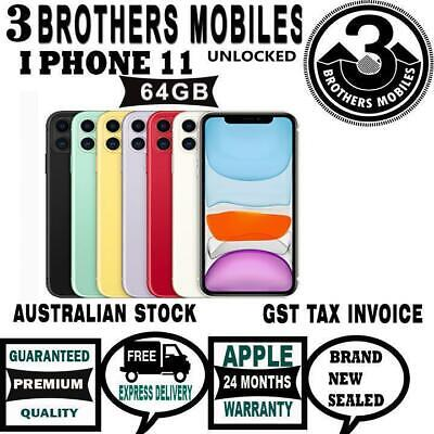 [Au Stock] Apple Iphone 11 64Gb (Green) Unlocked Gst Tax Invoice