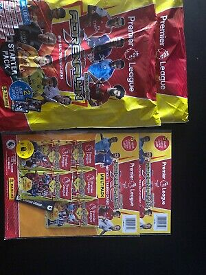 Panini Premier League 2019/20 Adrenalyn XL 2 STARTER PACKS 2 Multipacks