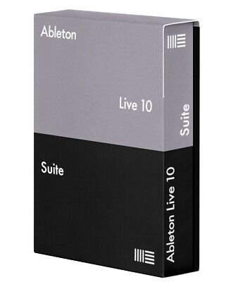 Ableton Live Suite 10.1 Mac    Start Making Music Today!