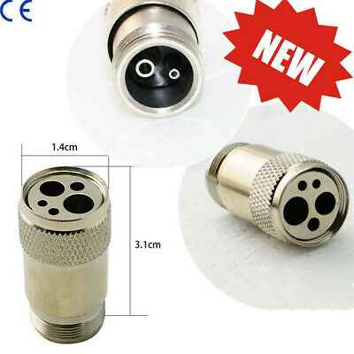Portable Dental High Fast Speed Handpiece Tubing Adapter Changer 2Hole to 4 Hole