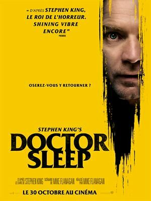 "Affiche du film ""Stephen King's Doctor Sleep"" 120 x 160 cm environ neuve Pliée"