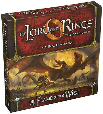 The Lord of the Rings LCG Card Game: The Flame of the West Saga Expansion Cards