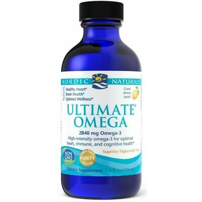 NORDIC NATURALS, ULTIMATE OMEGA Zitrone Omega-3 2840mg 119ml SUPER PREIS