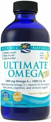 NORDIC NATURALS, ULTIMATE OMEGA XTRA Zitrone Omega-3 3400mg 237ml SUPER PREIS