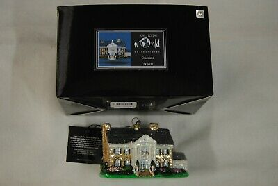 Elvis Presley Graceland House Ceramic Collectible New Official Joy To The World