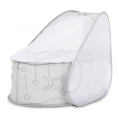 Koo-di Pop Up Travel Bassinet – Grey - Warehouse Clearance