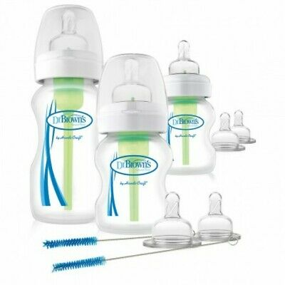 Dr Brown's Natural Flow Options Deluxe Starter Set - Warehouse Clearance