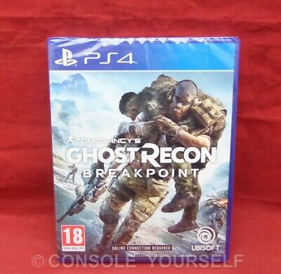 Ghost Recon Breakpoint - Tom Clancys - Brand New Sealed - Playstation 4 Ps4 - Uk
