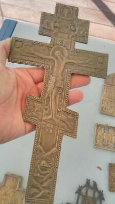 Big  orthodox Russian  cross 27 х 13,5