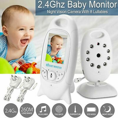 New Baby Monitor Color LCD Wireless Audio Talk Night Vision Digital Video G9V5S