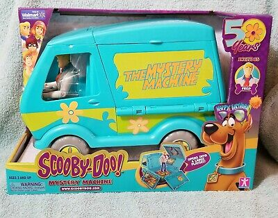 Scooby-Doo 50 Years Mystery Machine Playset Includes Fred ☆ Walmart Exclusive ☆