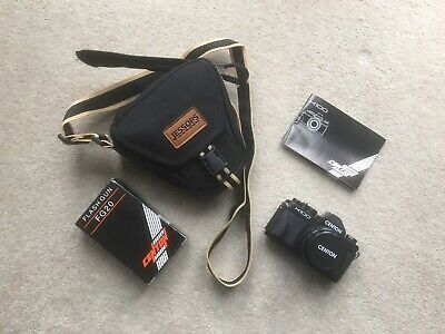 Used Centon K100 Camera with 52mm Lens, Flash & Bag
