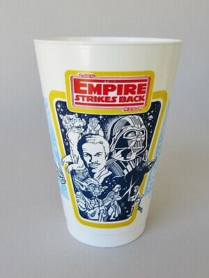 16 Ounce EMPIRE STRIKES BACK THEATRE PROMOTION CUP vintage 1982 Star Wars coke